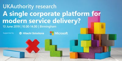 UKAuthority research: A single corporate platform for modern service delivery?