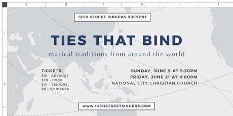 Ties that Bind: Musical Traditions from Around the World tickets