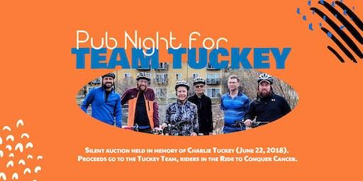 Pub Night for Team Tuckey