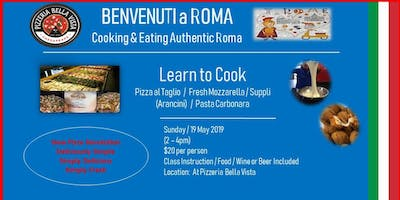 Cooking and Eating - Authentic Italian (Roma)