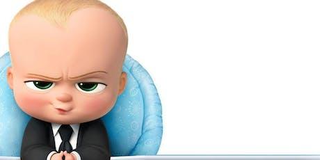 Free Outdoor Movie Night: Boss Baby tickets