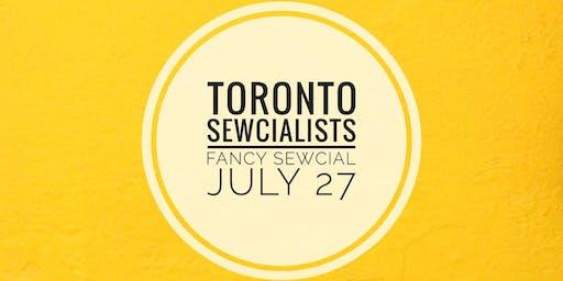 Toronto Sewcialist Fancy Sewcial