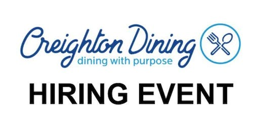 Creighton Dining (by Sodexo) Hiring Event