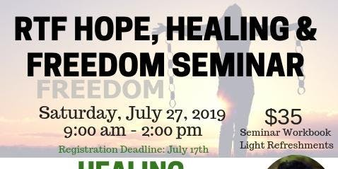 Hope, Healing & Freedom Seminar