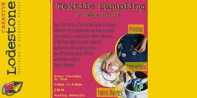 Textile Sampling - Four Week Block