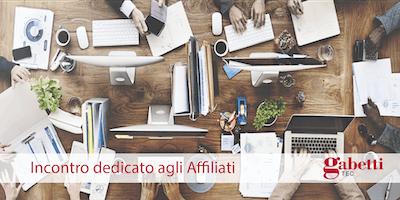 Incontro dedicato agli Affiliati Gabetti Tec - Verona, 27 maggio 2019