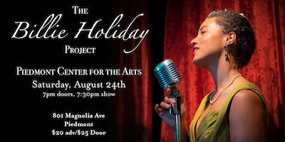 The Billie Holiday Project at Piedmont Center for the Arts