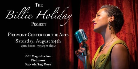 The Billie Holiday Project at Piedmont Center for the Arts tickets