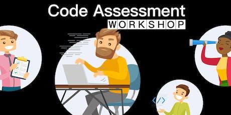 Code Assessment Workshop tickets