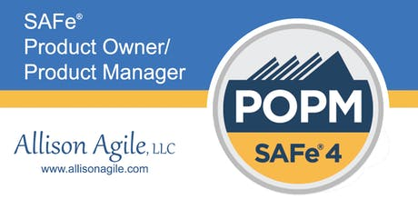 (WILL RUN!) SAFe 4.6 Product Owner/Product Manager Cert - Dallas (Aug 22/23) tickets
