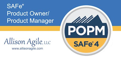 (WILL RUN!) SAFe 4.6 Product Owner/Product Manager Cert - San Antonio (Nov 8/9) tickets