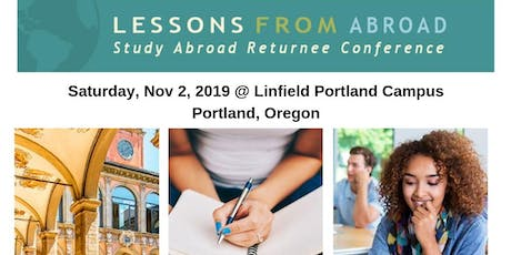 2019 Lessons From Abroad Oregon Conference tickets