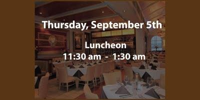 2019 September 5th Luncheon