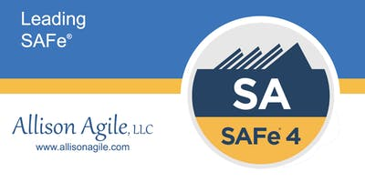 (WILL RUN!) SAFe 4.6 Leading SAFe - Austin TX (Sep 16/17)