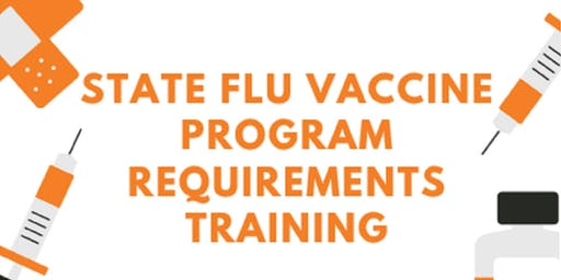 State Flu Vaccine Requirements Training