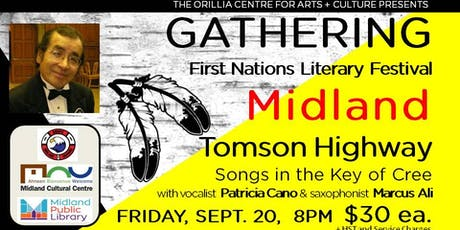 TOMSON HIGHWAY: Songs in the Key of Cree tickets