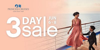 Princess Cruises 3-Day Sale Preview Event