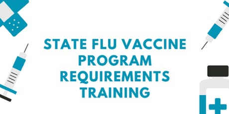 State Flu Vaccine Program Requirements Training for Public Health Centers tickets