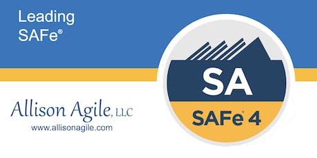 (WILL RUN!) SAFe 4.6 Leading SAFe - San Antonio TX (Sep 13/14) tickets