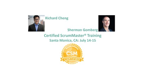Certified ScrumMaster® Training | Santa Monica | July 2019 tickets