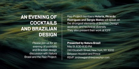 Raiz Project X Natura ICFF Cocktail Evening tickets