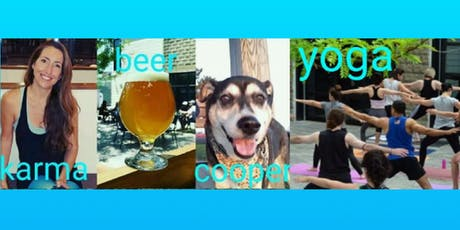 Yoga in the Beer Garden with Karma (& Cooper) tickets