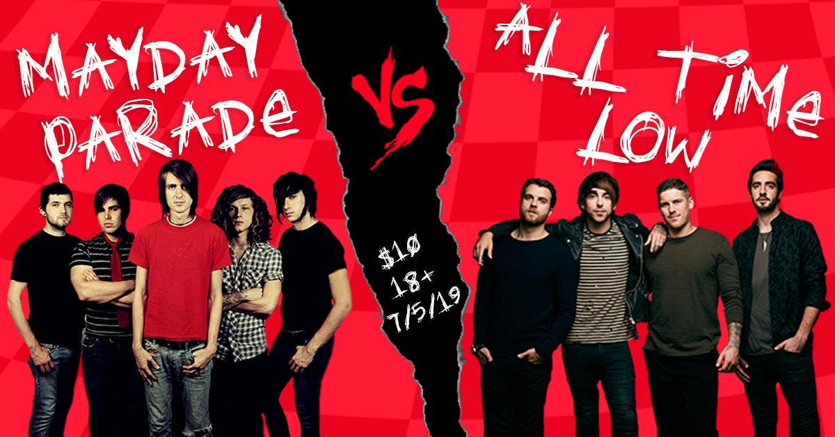 Mayday Parade vs. All Time Low: Live Band Tribute
