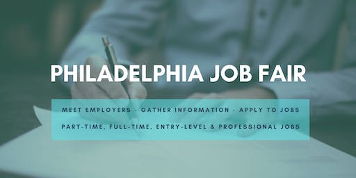 Philadelphia Job Fair - June 18, 2019 Job Fairs & Hiring Events in Philly PA