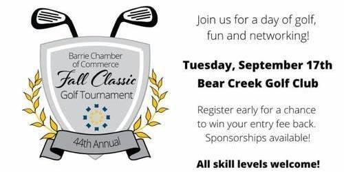 44th Annual Fall Classic Golf Tournament