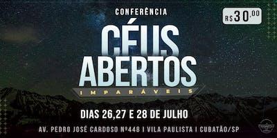 Conferência Céus Abertos 2019 - IMPARÁVEIS