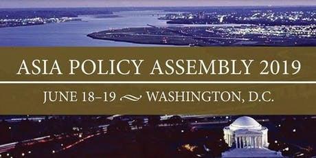 Asia Policy Assembly 2019  tickets