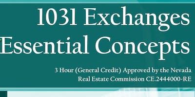 1031 Exchanges Essential Concepts CE Class