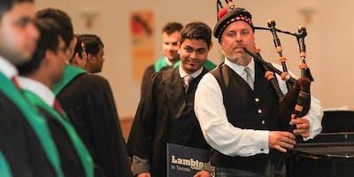 Lambton College In Toronto Convocation - Summer 2019