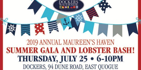 Summer Gala & Lobster Bash - Back to Dockers 2019 tickets