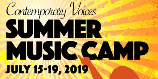 Contemporary Voices Summer Music Camp