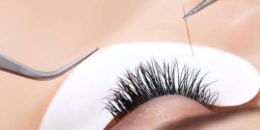 Charleston, Everything Eyelashes or Classic (mink) Eyelash Certification