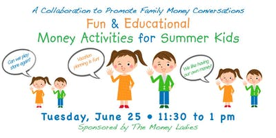 Fun & Educational Money Activities for Summer Kids