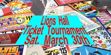 June Ticket Tournament $8000.00 CASH tickets