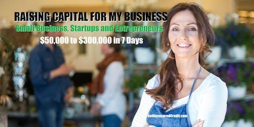Raising Capital for My Business - Milwaukee, WI