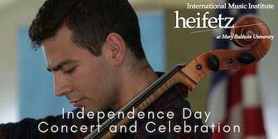 Heifetz Festival of Concerts: Independence Day Concert and Celebration (07/04/19)