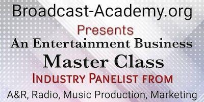 Music Business Master Class
