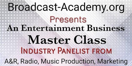 Entertainment Business Master Class tickets