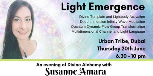 Light  Emergence - An Evening of Divine Alchemy with Susanne Amara