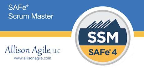 (WILL RUN!) SAFe 4.6 Scrum Master Certification - San Antonio, TX (Jul 13/14) Tickets