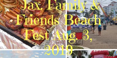 Jax. Family & Friends Beach Fest