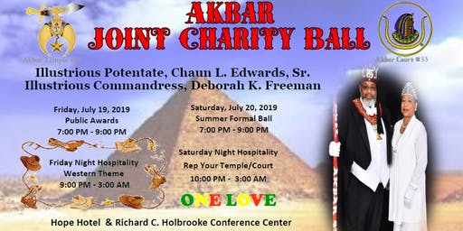 Akbar Joint Charity Ball
