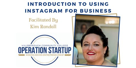 Introduction to Using Instagram for Business tickets