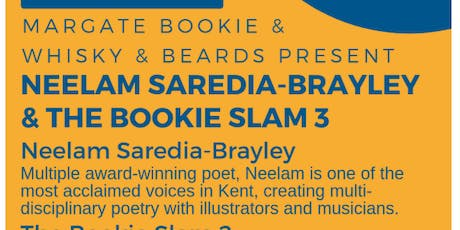Margate Bookie Poetry Slam Write UP! special tickets