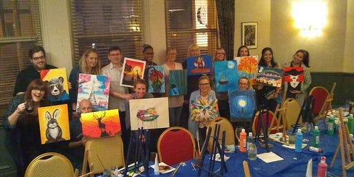 3 for 2 Paint and Sip Party Millstone Hotel Gosforth