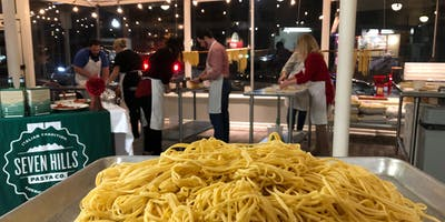 """Pasta 101"" 7/16 Fresh Pasta Making Class"